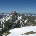 Großer und Kleiner Widderstein vom Walser Geißhorn gesehen
