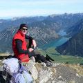 Blick zum Plansee und Heiterwanger See