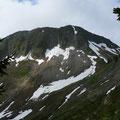 Das Zafernhorn beim Aufstieg