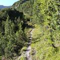 Übergang Richtung Schafkartal
