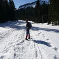 Unterwegs Richtung Burglhütte
