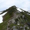 Die letzten Meter zum Steinmanndl
