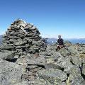 Steinmann auf der Mutegrubspitze