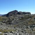 Die Große Rötelspitze über dem Spronser Tal