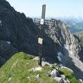 Gipfelkreuz des Wilden Gräshorn
