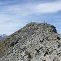 Der letzte Grat zum Gipfel