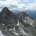 Großer und Kleiner Krottenkopf mit den Lechtaler Alpen dahinter