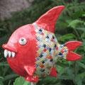 Neuer roter Schnappfisch
