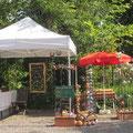 unser Marktstand am 1. Pfälzer Naschmarkt in NW / Mußbach 2014
