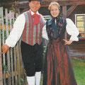 Stefanie & Eberhard Hertel in vogtländischer Tracht