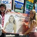"""2006 - Aufnahme in den Hofer Fernwehpark """"Sign of Fame"""" mit Stefan & Eberhard"""