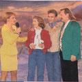 """1995 - Preisträgerin """"Goldene Eins"""" als meistgespielte Interpretin im Rundfunk"""
