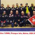 Das Schweizer Team in Presque Isle