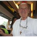 don Piero Linguanotto - Sacerdote Paolino. - Infaticabile coadiutore, celebrante e confessore presso la Parrocchia fin dal 1970.