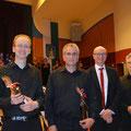 Unsere Chor- und Orchesterleiter bereiteten uns perfekt vor
