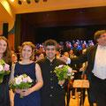 Solisten: Angelika und Mahti Niakan, Klaudia Tandl