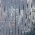 Kinder-Kreidekunst im Garten