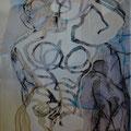 o.T. | Schnitt-Collage | 80 x 60 cm