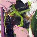 o.T. | Collage, Mischtechnik | 75 x 60 cm