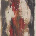 o.T. | Vlies  Mischtechnik | 200 x 75 cm