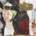 o.T. | Collage, Mischtechnik | 42 x 59 cm