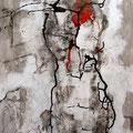 Crataegus | Leinwand  Mischtechnik | 75 x 60 cm