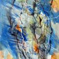 o.T. | Leinwand Mischtechnik | 100 x 70 cm