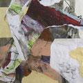 o.T. | Collage, Mischtechnik | 74 x 60 cm