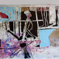 o.T. | Schnitt-Collage | 50 x 60 cm