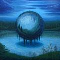 『border-現世に漂う記憶の塊-』 / 2014 / acrylic on canvas / 18000㎜×18000㎜ / ¥ASK