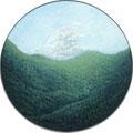 『のびやかに』/ 2015 / oil on canvas / 450φ / ¥50,000