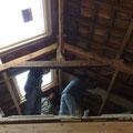 isolation toiture 16cm chanvre : création ventilation entre la première couche d'isolant et les tuiles