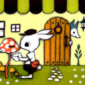 うさぎの郵便屋さん