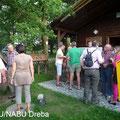 NABU-Mitglieder bei geselligem Erfahrungsaustausch