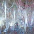 旧根上中央児童館 アーティストの出会い石川・巨大まきもの制作ワークショップ企画