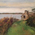 Maison - 2015 - Huile sur toile, 33x28,5 cm - Ile Tristan à Douardenez