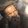 Berger - 2013 - Huile sur toile - Népal