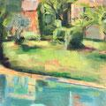 Les Janots - 2014 - Huile sur Bois, 55x37,5 cm - Cassis en France