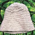 Mütze Schafwolle Natur