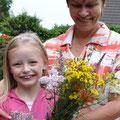 Blumen einer Streuobst-und Erholungswiese für Omi - Foto Andrea Weinke