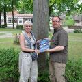 Andrea Weinke und Ralf Ottmann, Kultur gut Stärken, Lesung mit Ralf Ottmann - DER Lewitz-Ranger, Foto Andrea Weinke