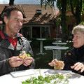 Frühlingsfrühstück 2012 in Groß Laasch Foto Andrea Weinke