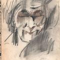 片町Yorkのマスター。私が27歳頃に描いた