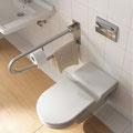 © Toilettes barre de soutien accessibilité - © Duravit AG