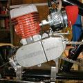 motor mounts motorized chopper bike