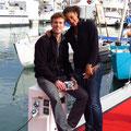 Merci à Antoine et Annick, toujours avec nous dans les bons coups, que ce soit en Polynésie, à Bali ou à La Rochelle!!
