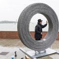 Barbed Circle von Harry Schaffer in Venedig