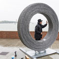 Barbed Circle von Harry Schaffer in Venedig