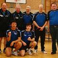 2009 Herren 3: hinten Helmut Mayer, Franz Burth, Hermann Müller, Dieter Graf, Claus Gersbacher; vorne Zhongyi Feng, Patrick Emmert