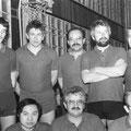 1984 2. Mannschaft: hinten Jürgen Stoffel, Knut Zielinski, Hein-Lüder Mayer, Hans Drechsler, Ludwig Burgmaier; vorne Hai Au, Klaus Reindanz, Dieter Graf